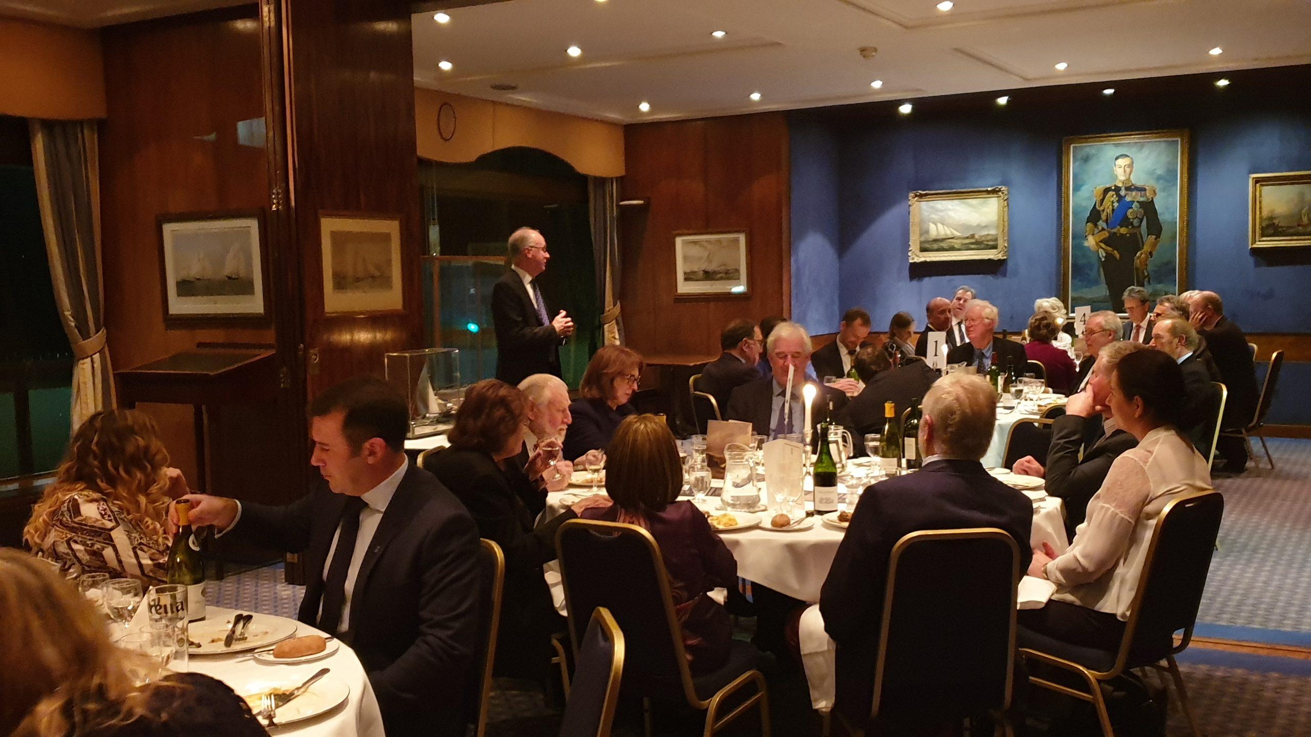 BDA AGM dinner Royal Thames Yacht Club