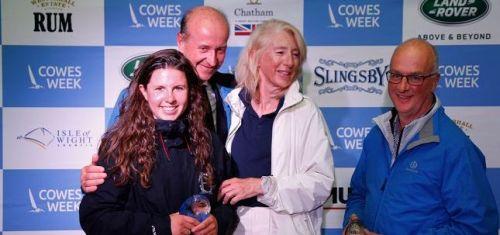 Cowes Week 2019_winner AIMEE